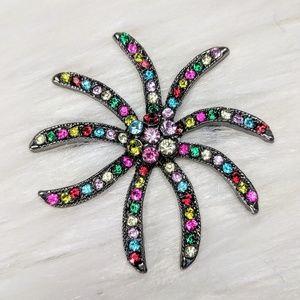 Jewelry - Starburst Multi-Color Pin